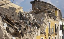 Positive and negative effects of an earthquake